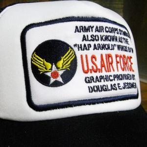 U.S.AIR FORCE メッシュキャップ アメカジ 帽子 アメリカン雑貨|goodsfarm|06