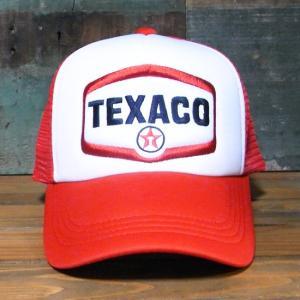 テキサコ メッシュ キャップ TEXACO 帽子 アメリカンメッシュキャップ|goodsfarm