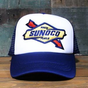 SUNOCO メッシュ キャップ 帽子 スノコ アメリカンメッシュキャップ|goodsfarm