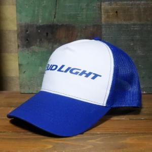 バドワイザー BUDWEISER 帽子 BUDLIGHT メッシュキャップ goodsfarm