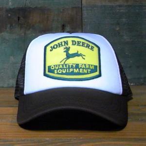 ジョンディア メッシュ キャップ JOHN DEERE 帽子 アメリカン雑貨|goodsfarm