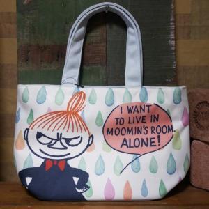 ムーミン ランチバッグ リトルミイ 水彩アート MOOMIN トートバッグ|goodsfarm