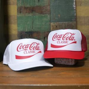コカコーラ メッシュ キャップ 帽子 COCA COLA Mesh Cap goodsfarm