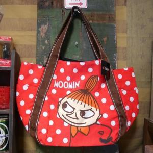 ムーミン バルーントートバッグ リトルミイ 鞄 ドット MOOMIN|goodsfarm
