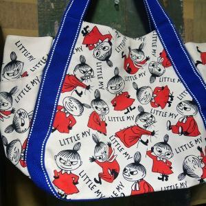 ムーミン バルーントートバッグ リトルミイ 鞄 いっぱい MOOMIN|goodsfarm|02
