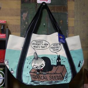 ムーミン バルーントートバッグ リトルミイ 鞄 箱の上 MOOMIN|goodsfarm