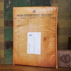 封筒型 クラフト クラッチバッグ DELIVERY CRAFT CLUTCH BAG ハンドバッグ セカンドバッグ|goodsfarm