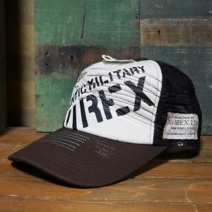 AVIREX 帽子 COTTON LINEN CAP メッシュキャップ アヴィレックス ミリタリー|goodsfarm