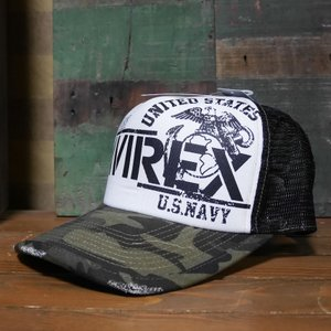 AVIREX 帽子 NAVY SEALS MESH CAP メッシュキャップ アヴィレックス ミリタリー|goodsfarm