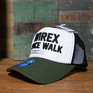 AVIREX 帽子 SPACE WALK MESH CAP メッシュキャップ アヴィレックス ミリタリー|goodsfarm