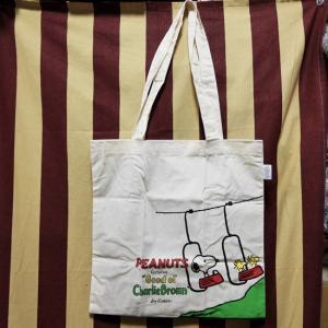 スヌーピー トートバッグ コットン エコバッグ ゴンドラ|goodsfarm