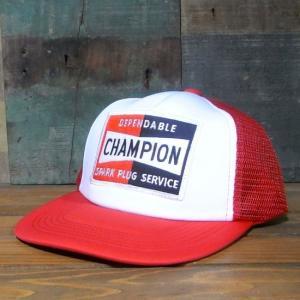 チャンピオン メッシュキャップ CHAMPION 帽子 レーシング系メッシュキャップ|goodsfarm