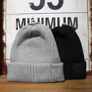 ALPHA INDUSTRIES アルファインダストリーズ ニット帽子 メンズ レディース AL_7G コンバットワッチ ニットキャップ|goodsfarm