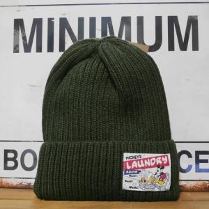 ディズニー ニットキャプ メンズ レディース ニット帽 ミッキー ランドリー goodsfarm