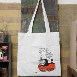 ムーミン エコバッグ 漂流 トートバッグ コットン|goodsfarm