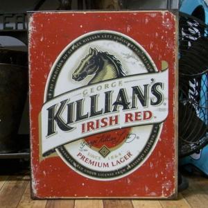 キリアンズ アイリッシュ レッド ブリキ看板 Killian's Irish Red Beer インテリア goodsfarm