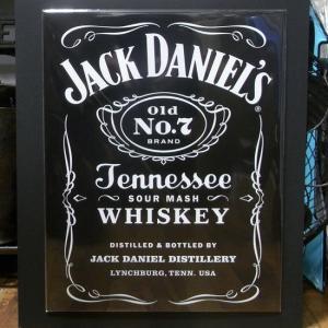 ジャックダニエル ブリキ看板 インテリア JACK DANIEL'S メタルサインプレート|goodsfarm
