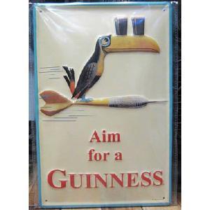 ブリキ看板 ギネスビール インテリア メタルサインプレート アメリカン雑貨|goodsfarm
