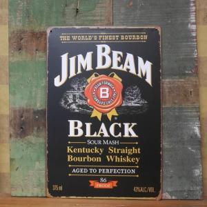 ジム・ビーム ブリキ看板 Jim Beam インテリア メタルサインプレート goodsfarm