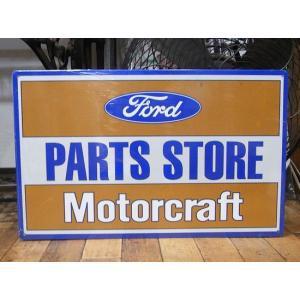 ブリキ看板 アメ車 フォード インテリア メタルサインプレート アメリカン雑貨|goodsfarm