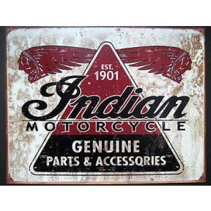 ブリキ看板 インディアン インテリア メタルサインプレート アメリカン雑貨|goodsfarm