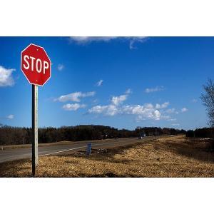 STOP ブリキ看板 トラフィックサインプレート 道路標識 止まれ goodsfarm 03