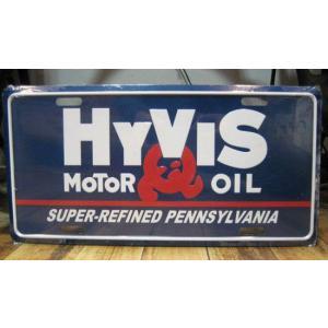 ブリキ看板 CMプレート HYVIS インテリア メタルサインプレート アメリカン雑貨|goodsfarm