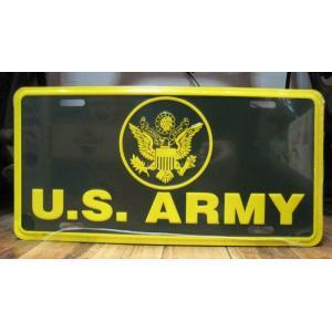 ブリキ看板 CMプレート U.S.ARMY インテリア メタルサインプレート アメリカン雑貨|goodsfarm