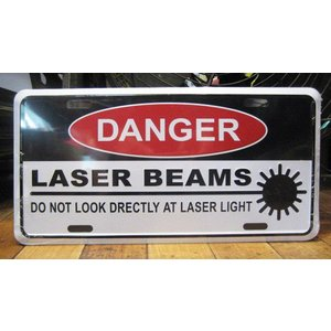 ブリキ看板 CMプレート LASER BEAMS インテリア メタルサインプレート アメリカン雑貨|goodsfarm
