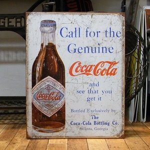ブリキ看板 コカコーラ メタルサインプレート アメリカン雑貨|goodsfarm