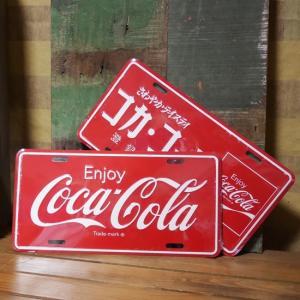 コカコーラ ライセンスプレート Coco Cola インテリア アメリカン雑貨|goodsfarm