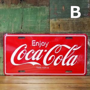 コカコーラ ライセンスプレート Coco Cola インテリア アメリカン雑貨 goodsfarm 04
