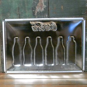エンボス ブリキ看板 コカコーラ インテリア メタルサインプレート ビンテージボトル|goodsfarm|02