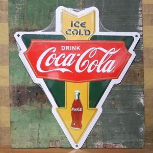 コカコーラ アローカットサイン ブリキ看板 Coca-Cola アメリカン雑貨|goodsfarm