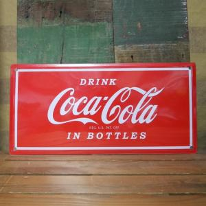 コカコーラ ドリンク ティンサイン ブリキ看板 Coca-Cola アメリカン雑貨|goodsfarm