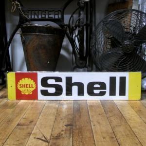 SHELL ブリキ看板 シェルオイル ティンサイン インテリア|goodsfarm