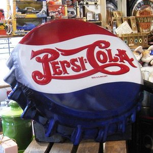 ブリキ看板 ペプシコーラ インテリア Pepsi アメリカン雑貨|goodsfarm