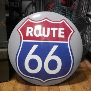 ROUTE66 メタルドームサイン ブリキ看板 ルート66 インテリア|goodsfarm