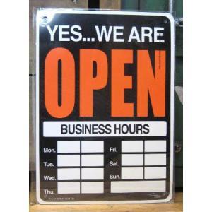 プラスチック サインプレート オープン クローズ インテリア アメリカン雑貨|goodsfarm