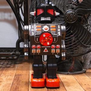 マシンガンロボット ブリキのおもちゃ ブリキの電動ロボット goodsfarm