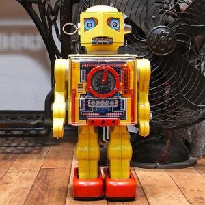 ニューメーターロボット ブリキのおもちゃ ブリキの電動ロボット goodsfarm