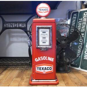 テキサコオイル ガスポンプ型 ミニCDラック キャビネット goodsfarm