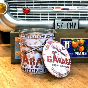 ぺール缶 スツール GARAGE 収納ボックス オイル缶 椅子|goodsfarm