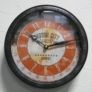 ヴィンテージ クロック モーター 掛け時計 レトロ 時計|goodsfarm
