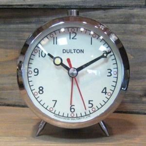 目覚まし時計 クローム DULTON ダルトン アメリカン雑貨 goodsfarm