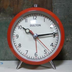 目覚まし時計 レッド DULTON ダルトン アメリカン雑貨 goodsfarm