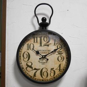 アンティーク ウォールクロック 掛け時計 レトロ 時計|goodsfarm