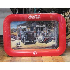 コカコーラ トレイ アメリカ雑貨 ティントレイ お盆|goodsfarm