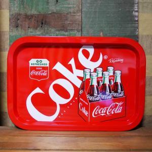 コカコーラ ティントレイ 6ボトルズ お盆 アメリカン雑貨|goodsfarm