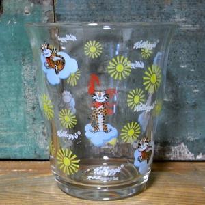 ケロッグ ガラスタンブラー サム&ココくん Kellogg's グラス コップ|goodsfarm